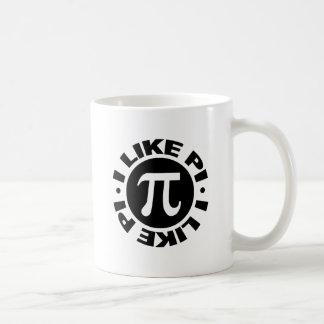 I Like Pi Classic White Coffee Mug
