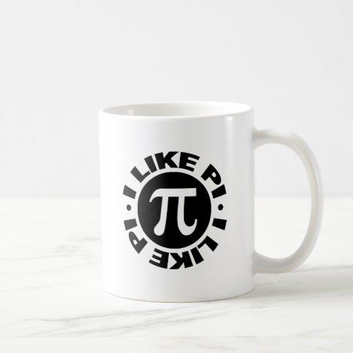 I Like Pi Mugs