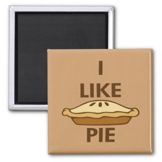 I Like Pie Magnet