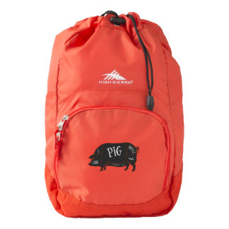 I Like Pig Butts and I Cannot Lie High Sierra Backpack