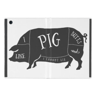 I Like Pig Butts and I Cannot Lie iPad Mini Cover