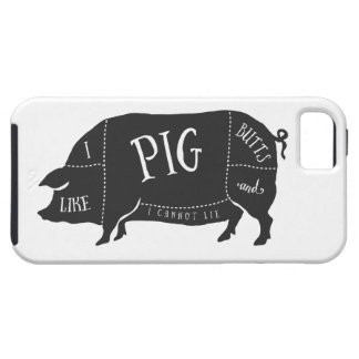 I Like Pig Butts and I Cannot Lie iPhone SE/5/5s Case