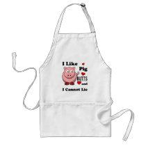 I Like Pig Butts Funny Pork Butt Roast Adult Apron