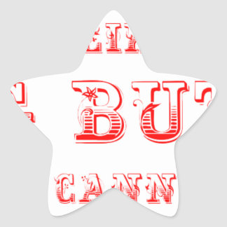 I-like-pig-butts-max-red.png Star Sticker