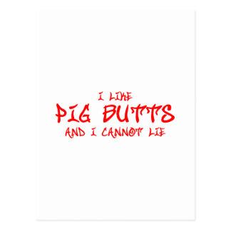 I-like-pig-butts-st-soul-red png postal