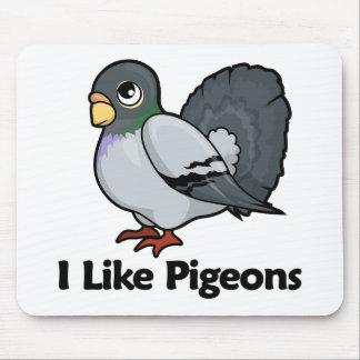 I Like Pigeons Mouse Pad