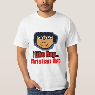 I Like Rap Christian Rap T-Shirt