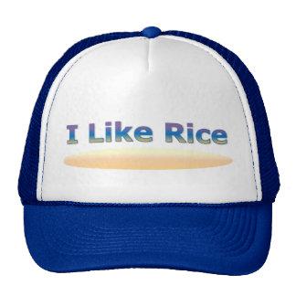 I Like Rice Trucker Hat