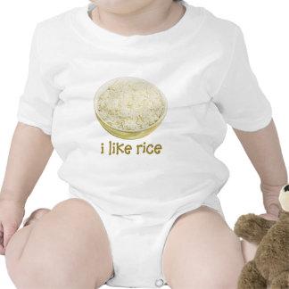 I Like Rice Bodysuit