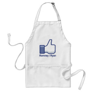 I LIKE ROMNEY RYAN.png Adult Apron