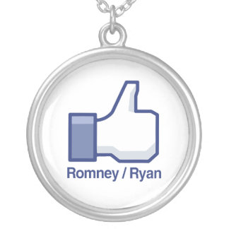 I LIKE ROMNEY RYAN.png Necklace