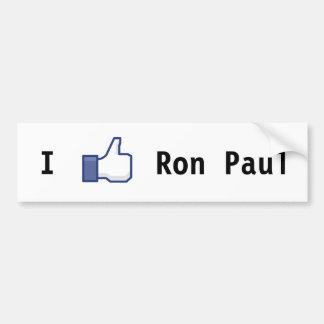 I Like Ron Paul Bumper Sticker