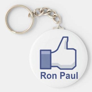 I LIKE RON PAUL KEY CHAIN
