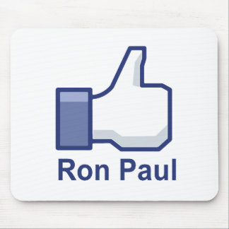 I LIKE RON PAUL MOUSE PAD