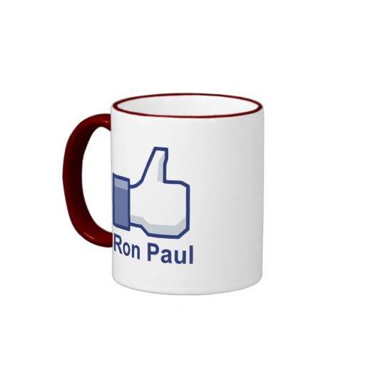 I LIKE RON PAUL MUG