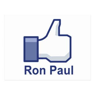 I LIKE RON PAUL POST CARDS