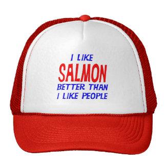 I Like Salmon Better Than I Like People Hat