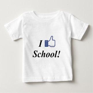 I LIKE SCHOOL! BABY T-Shirt