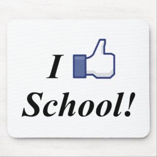 I LIKE SCHOOL! MOUSE PAD