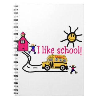 I Like School Notebook