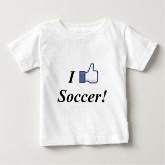 I LIKE SOCCER! BABY T-Shirt
