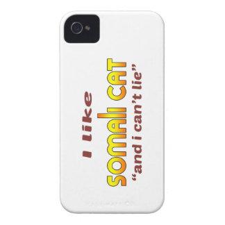 I Like Somali Cat iPhone 4 Case-Mate Case