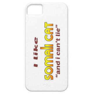 I Like Somali Cat iPhone 5 Cases