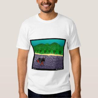 I Like Sticks, Black Lab - Stephen Huneck Shirt