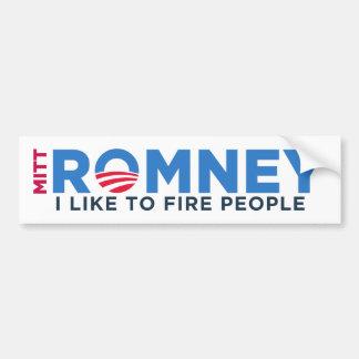 I Like T Fire People Car Bumper Sticker