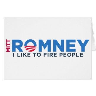 I Like T Fire People Card