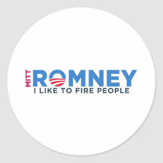 I Like T Fire People Classic Round Sticker