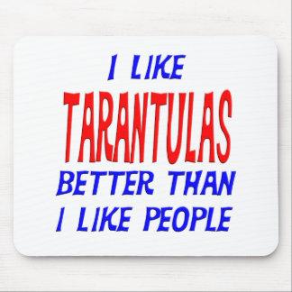 I Like Tarantulas Better Than I Like People Mousep Mouse Pad