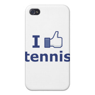 I Like Tennis iPhone 4 Cases