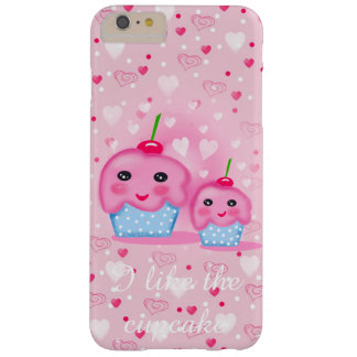 I like the cupcake barely there iPhone 6 plus case