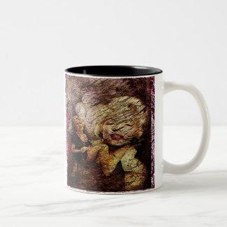 I like the jokes, goal I C not want to Be one, M.M Two-Tone Coffee Mug
