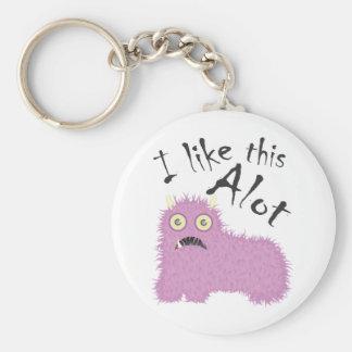 I Like This Alot Keychain