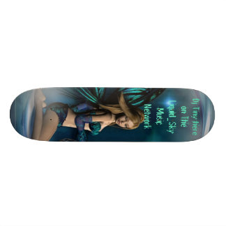 I like this one, Dj Tiny here on The Liquid_Sky... Custom Skate Board