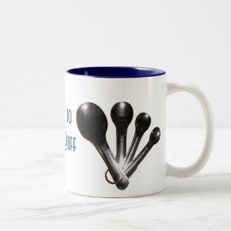 """""""I Like to Bake Stuff"""" Measuring Spoons Mug"""