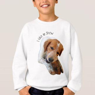 i like to chew sweatshirt