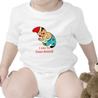 I Like To Clown Around! Infant Shirt