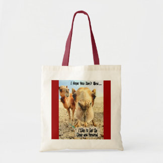 I Like to Get Up Close and Personal Tote Bag