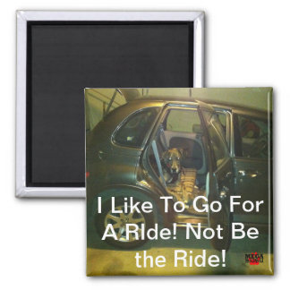 I Like To Go For A Ride! Not Be the Ride! Magnet