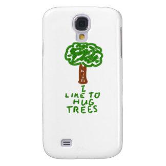 I Like to Hug Trees Galaxy S4 Case