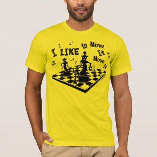 I like to Move it, Move it, Chess, men's t-shirt