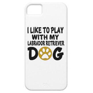 I Like To Play with My Labrador Retriever Dog iPhone SE/5/5s Case