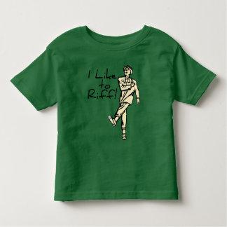 I Like to Riff Toddler T-shirt