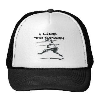 I Like To Spike Trucker Hat