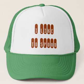 I LIKE TO SPOON HAT