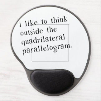 I Like To Think Outside The Box Gel Mouse Pad
