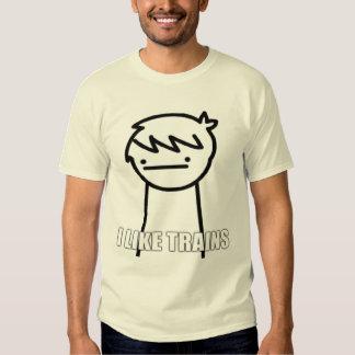 I like Trains Shirt